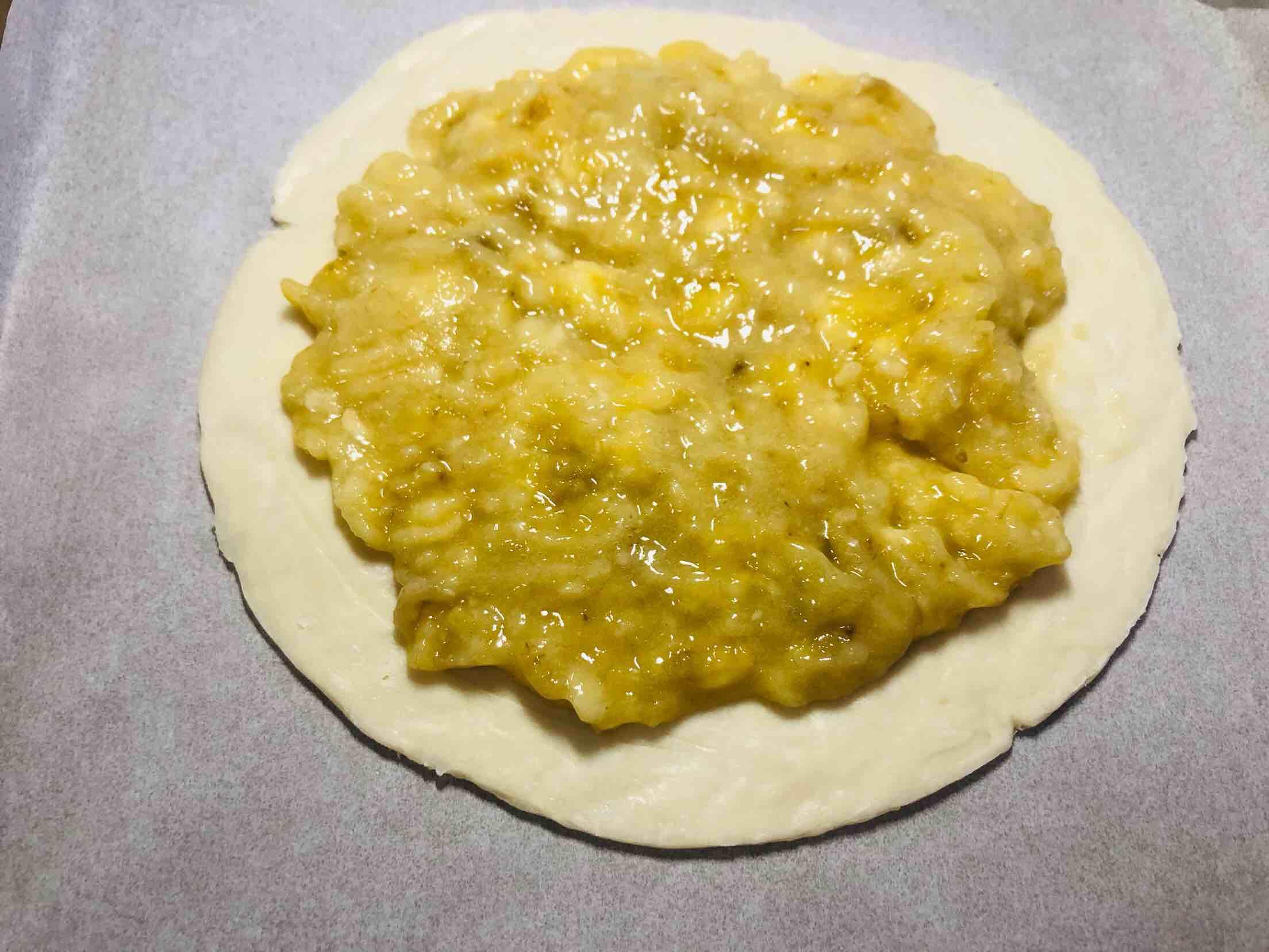香蕉披萨(手抓饼版)的家常做法