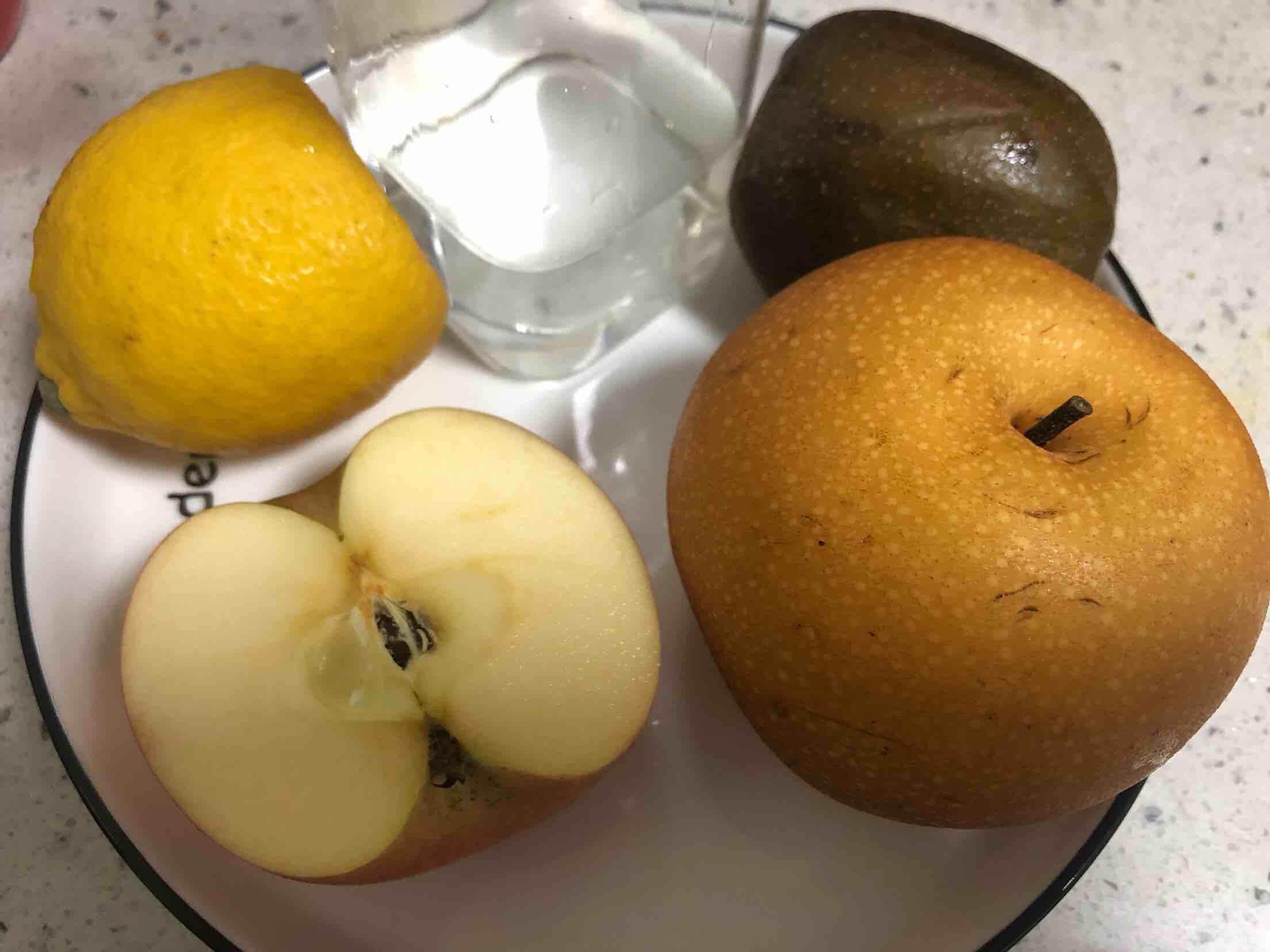 猕猴桃梨汁的做法大全