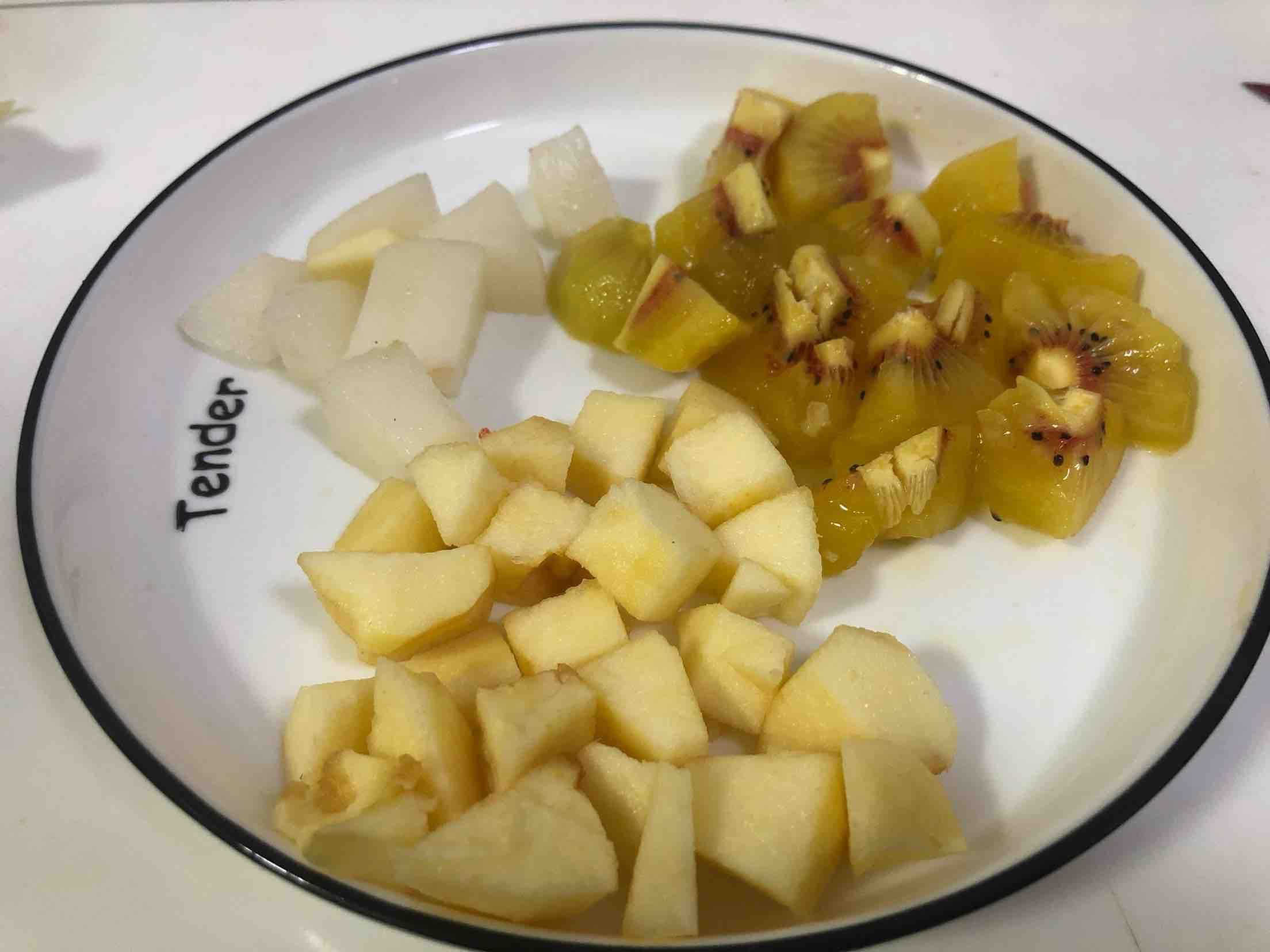猕猴桃梨汁的做法图解
