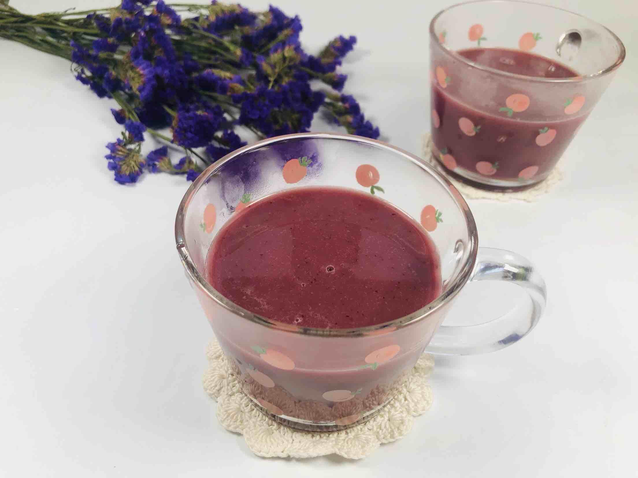 紫薯红枣小米糊怎么做