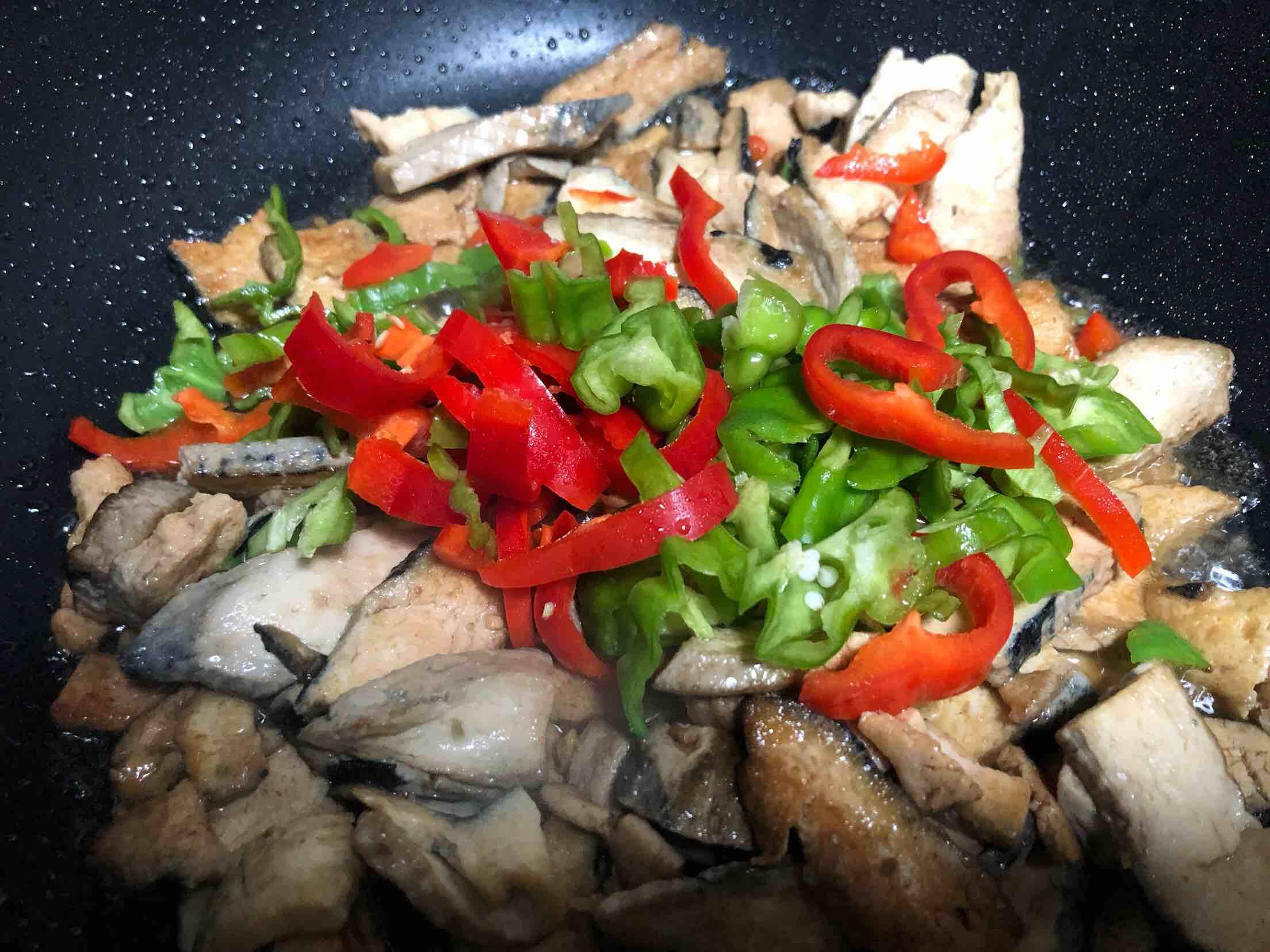 双椒臭豆腐怎么做