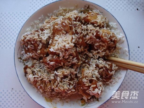 粽香糯米蒸排骨怎么吃