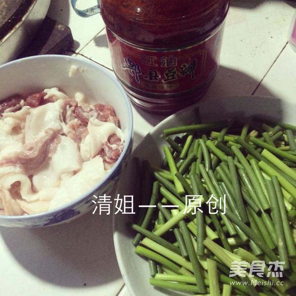 蒜苔回锅肉的做法大全