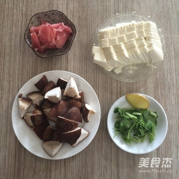 鲜香菇豆腐汤的做法图解