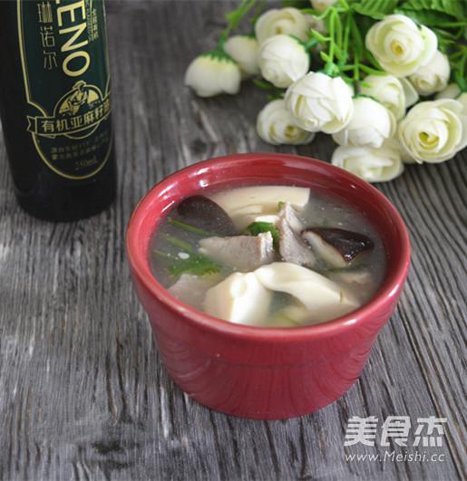 鲜香菇豆腐汤怎样煸