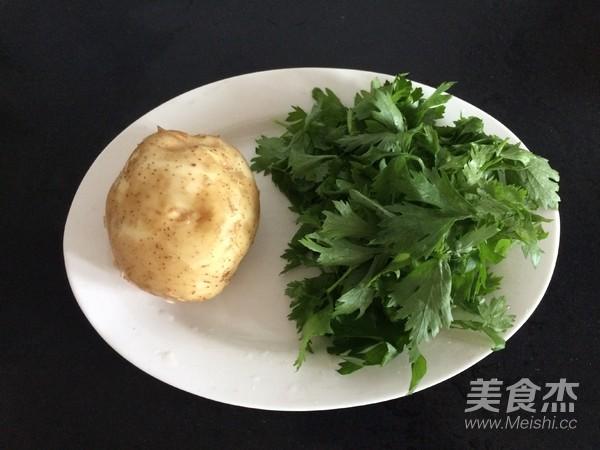 土豆丝芹菜叶汤的做法大全