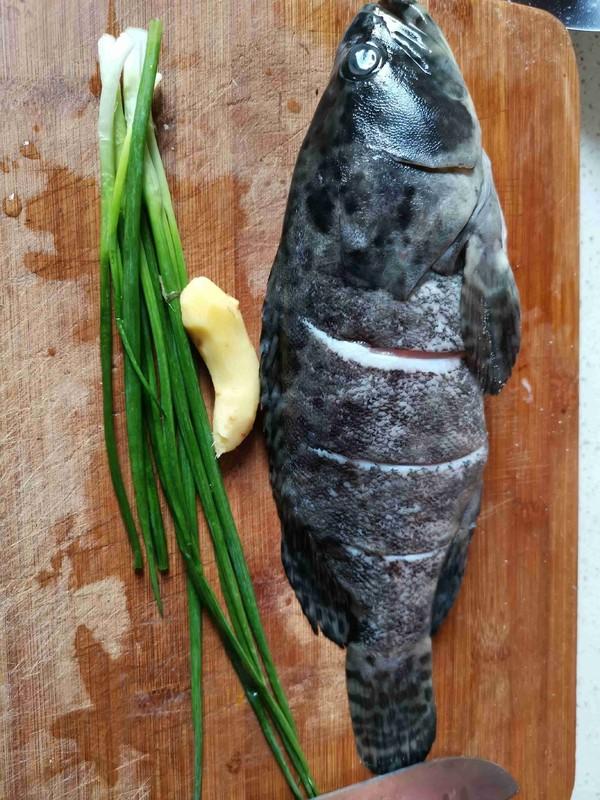 清蒸石斑鱼的做法图解