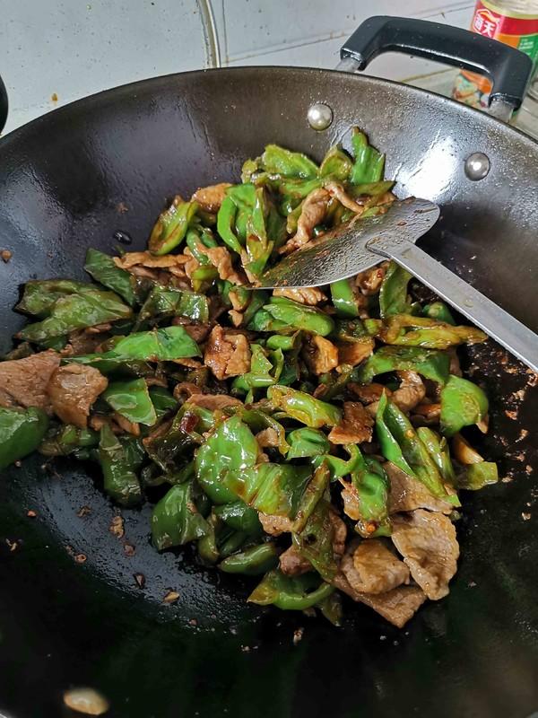 辣椒炒肉的简单做法
