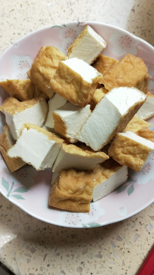 自制香辣臭豆腐的做法图解