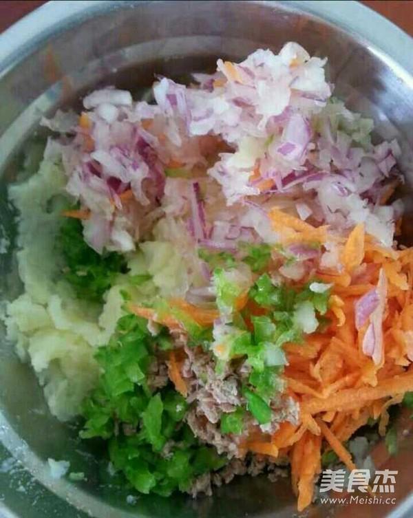 蔬菜土豆饼的做法图解