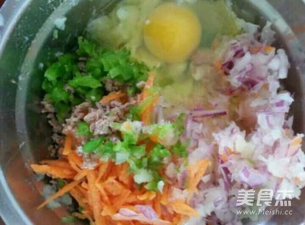 蔬菜土豆饼的家常做法