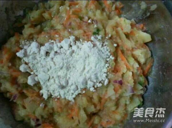 蔬菜土豆饼的简单做法