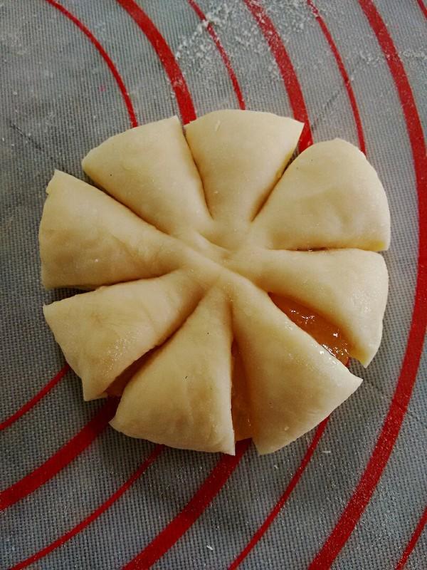 花朵果酱面包怎么炒