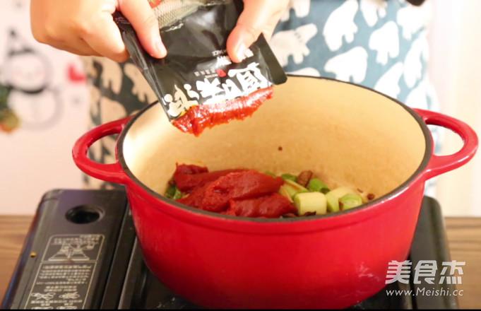 番茄牛肉火锅怎么煮