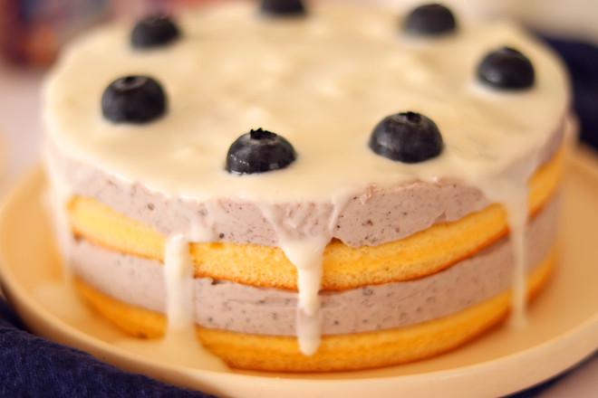 蓝莓慕斯蛋糕的制作大全