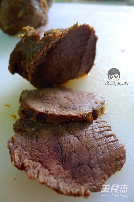 五香酱牛肉的步骤