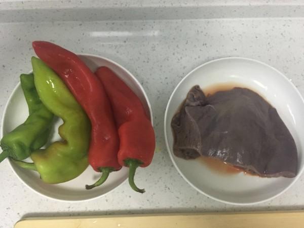 猪肝炒辣椒的做法大全