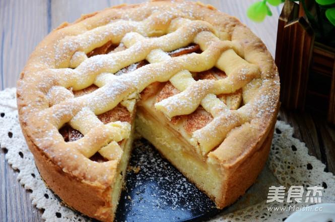 苹果蛋糕的步骤