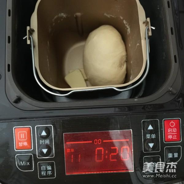椰蓉面包卷的简单做法