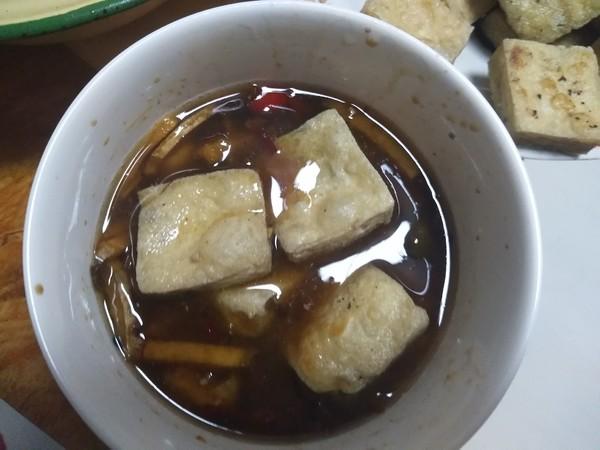 家常油炸臭豆腐的简单做法