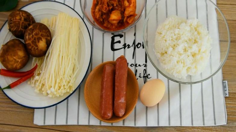韩式泡菜炒饭的做法大全