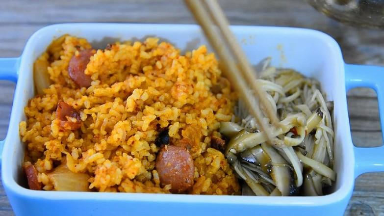 韩式泡菜炒饭怎样做