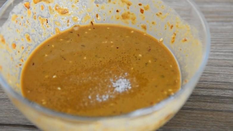 麻酱肥牛金针菇的家常做法