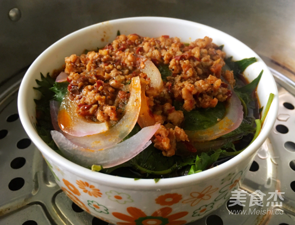 紫苏蒸辣肉的做法大全