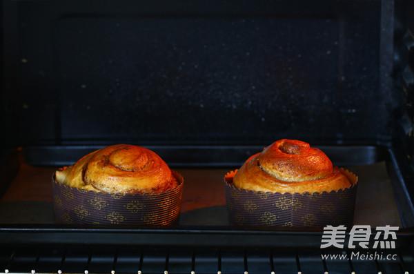肉桂卷面包的制作