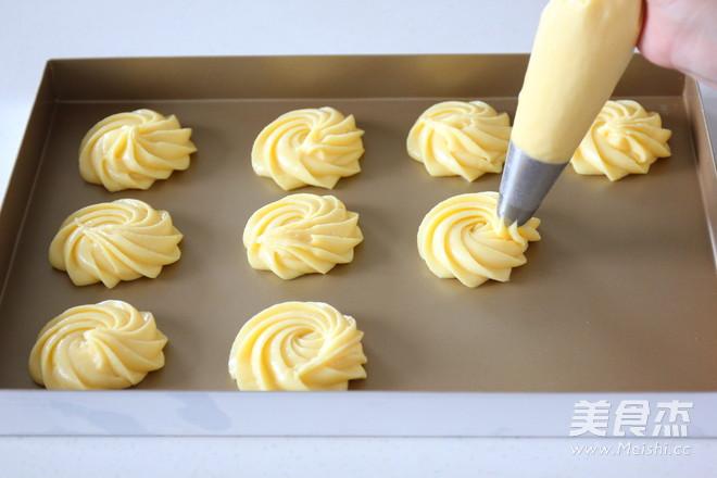 酥皮泡芙的制作方法