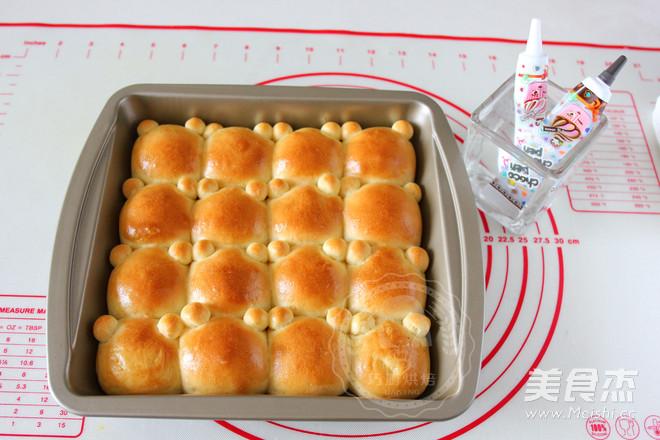 小熊挤挤面包怎样做