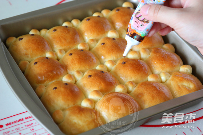 小熊挤挤面包怎样炒