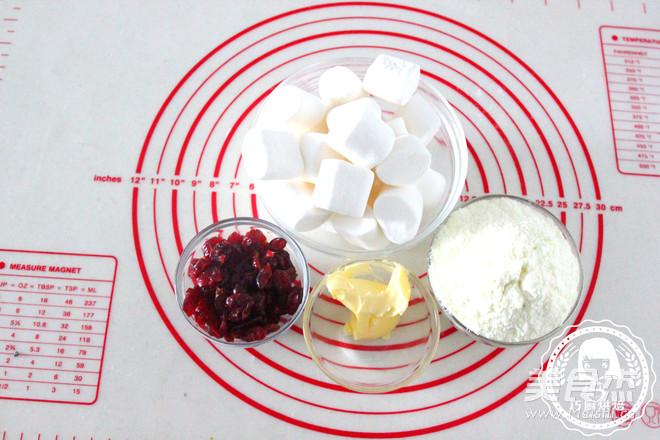 蔓越莓牛轧糖的做法大全