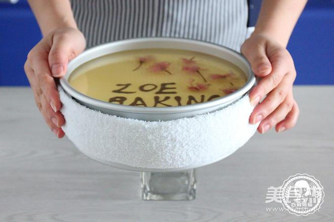 樱花芝士蛋糕的做法大全