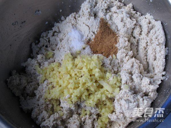 香菜豆腐丸子的做法图解