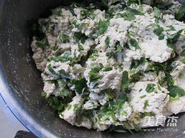 香菜豆腐丸子怎么做