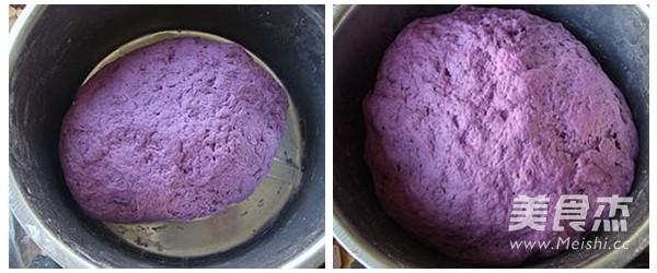 紫薯花卷的做法图解