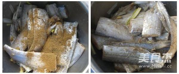 烤带鱼的做法图解