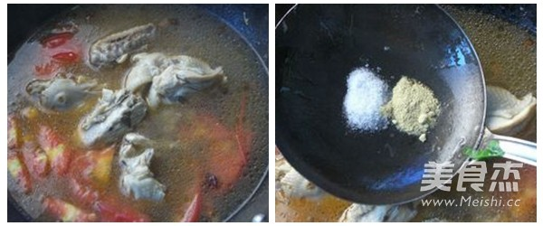 鸡汤鱿鱼面的家常做法
