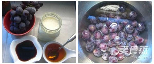 红酒葡萄酸奶的做法大全