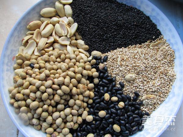 自制五谷豆浆粉的简单做法