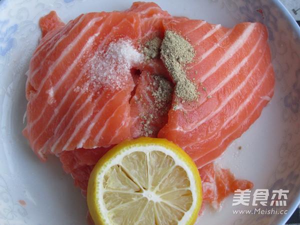 柠香三文鱼的做法图解