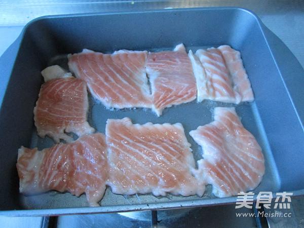 柠香三文鱼的家常做法