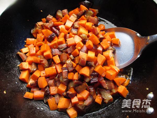 腊肉焖饭的简单做法