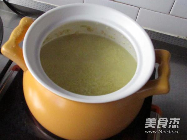 海参小米粥怎么炒