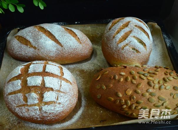 南瓜子面包怎样做