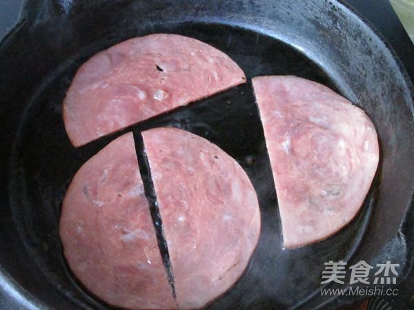 火腿三明治的家常做法
