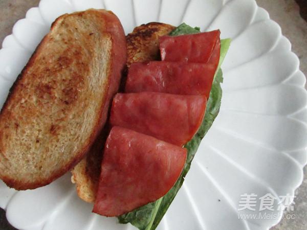 火腿三明治怎么做