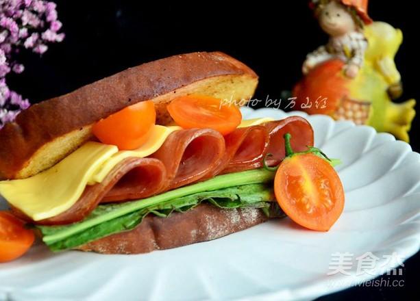 火腿三明治怎么炒