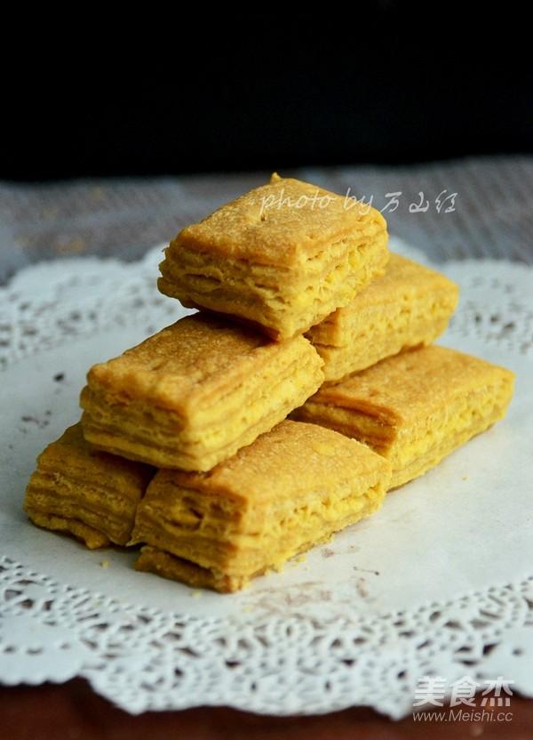 咸蛋黄饼干成品图